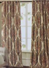 Cotton Drapes Contemporary 100 Cotton Curtains Drapes U0026 Valances Ebay