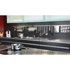 porte ustensiles de cuisine barre porte ustensiles de cuisine inox de 40 100 cm rosle barre