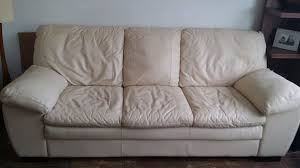 Soft Leather Sofa Sale Dfs Livi Soft Leather Sofa And Footstool In