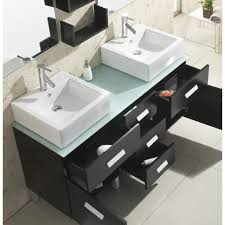 56 Bathroom Vanity Double Sink by Usa Maybell 56 U2033 Um 3063 Double Sink Bathroom Vanity