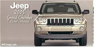 jeep grand wk brochures and manuals