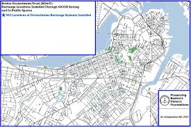 Boston Zoning Map by Maps Boston Groundwater Trust