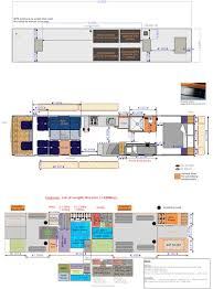 luxury rv floor plans tuscany 45lt 45 u0027 450hp tag axle diesel
