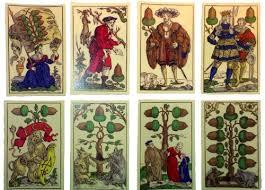 16th c german flotner card deck mainly