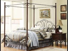 full size canopy bed design ideas youtube