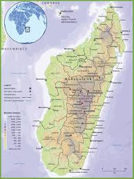 Germany Physical Map by Madagascar Physical Map