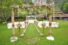 garden wedding venues garden wedding ceremony packages venue thailand