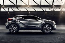 toyota new suv car toyota c hr concept updated for frankfurt looks closer to production