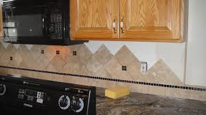 Travertine Tile Backsplash Ideas For Behind The Stove  Home - Backsplash designs behind stove