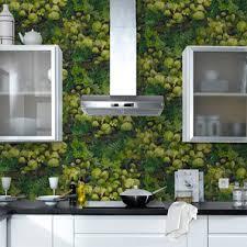4 murs papier peint cuisine papier peint cuisine intisse motif nature 4murs