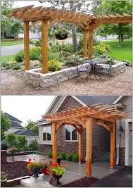 home decor ideas wonderful custom outdoor pergola ideas in front