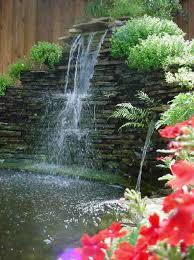Backyard Waterfall Ideas Backyard Waterfalls House Design And Office Fascinating Garden