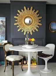 wall decor bright simple neutral fall farmhouse dining room 114