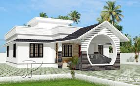 home desing 1108 square feet 3 bedroom low cost single floor home design and