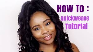 Half Up Half Down Hairstyles Black Hair How To Quick Weave Half Up Half Down Tutorial Youtube