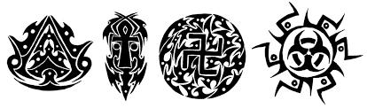 tribal symbols by koneko senpai on deviantart