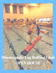 minneapolis log rolling club open house at the university of