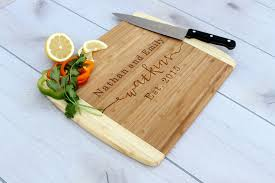 personalized engraved cutting board buy crafted personalized cutting board engraved cutting