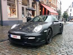 Vanity Plate Belgian Porsche 911 Turbo Vanity Plate Is Cooler Than Chocolate
