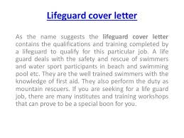 Lifeguard Job Duties For Resume by 65 Best Sample Resume Download Images On Pinterest Sample Resume