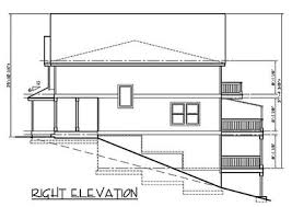walkout basement plans duplex house plan with walkout basement 38010lb architectural