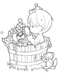 precious moments animal coloring pages funycoloring