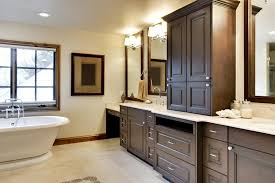 how bathroom cabinets are built