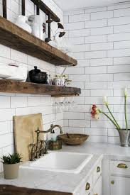 terrific rustic chic kitchen 35 rustic chic kitchen curtains best 25 rustic wooden shelves ideas on pinterest diy wooden
