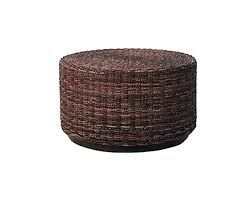 Wicker Storage Ottoman Coffee Table Rattan Ottoman Coffee Table Wicker Ottoman Coffee Table