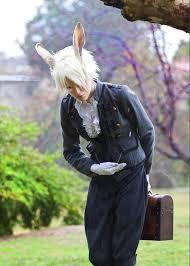 Scary Alice Wonderland Halloween Costume 137 White Rabbit Alice Wonderland Images