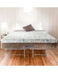 Memory Foam Bed Frame Amazing Deal On Homedics Restore 11 Gel Memory Foam Mattress And