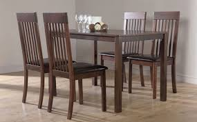 Awesome Dark Wood Dining Room Chairs Pictures Room Design Ideas - Dining room chairs wooden