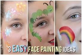 3 easy face painting ideas that your kids will love youtube