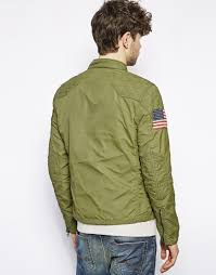 green motorcycle jacket ralph lauren denim supply motorcycle jacket in green for men lyst