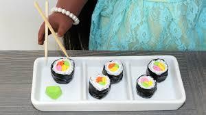 cuisine diy diy doll sushi