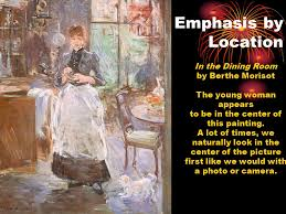 The Principles Of Design Ppt Video Online Download - Berthe morisot in the dining room