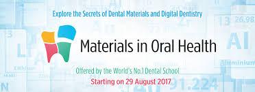 return of u201cmaterials in oral health u201d u2013 a mooc by the faculty of