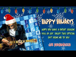 joe bonamassa merry christmas baby youtube