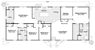 5 bedroom double wide floor plans southern energy homes another nice floor plan house plans