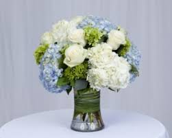 hydrangea arrangements seabreeze and hydrangea mix flower arrangement in burbank ca
