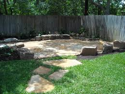 Dry Laid Bluestone Patio by Flagstone Patio Set In Decomposed Granite With Sitting Stones