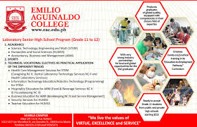 senior high u2013 emilio aguinaldo college