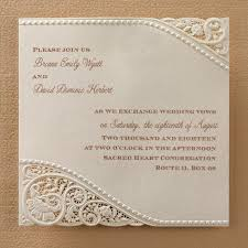 vintage wedding invitations laser cut vintage lace wedding invitations flamingo