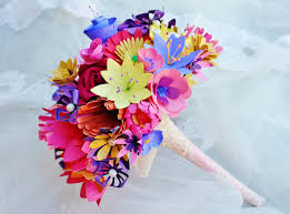 paper flower bouquet paper flowers bouquet wedding http lomets