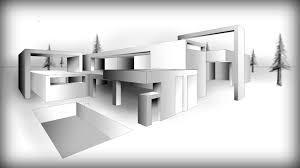 architecture design 9 drawing a modern house youtube