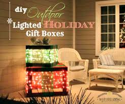 How To Make Decorative Gift Boxes At Home Diy Outdoor Lighted Gift Boxes What Knows