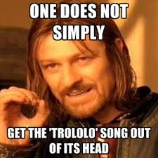 Mr Trololo Meme - one does not simply get the trololo song out of its head create