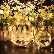 amazon com 2 set fairy string light battery operated remote
