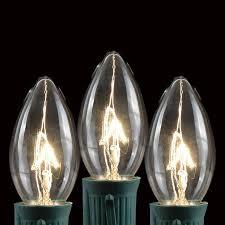 black wire c9 light stringers 100 novelty lights