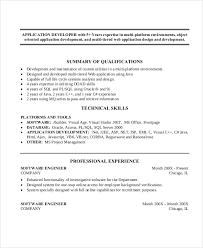 Sample Resume For Oracle Pl Sql Developer by Java Developer Resume Chitselb Resume Pdf Java Developer Resume